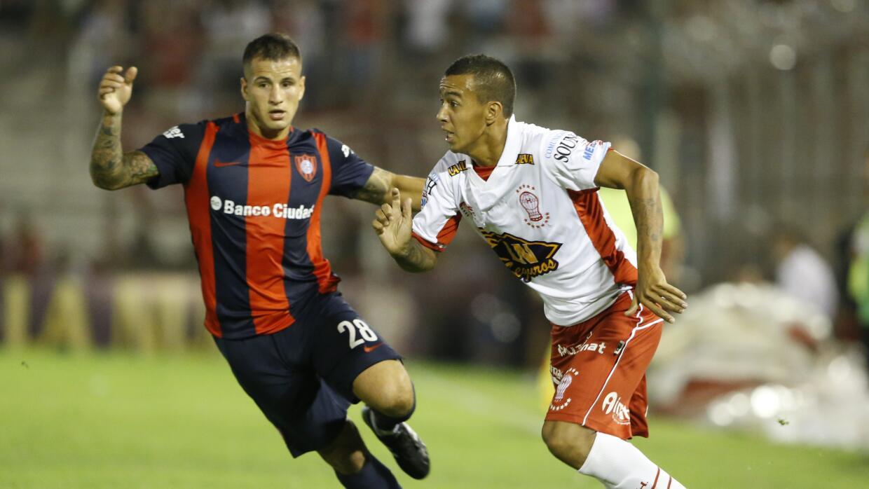 San Lorenzo y Huracán igualaron a un gol.