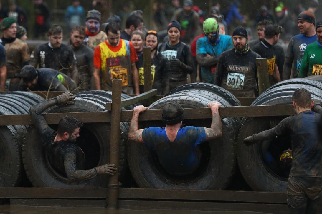 Así es Tough Guy, la carrera con obstáculos más difícil y pesada del mun...