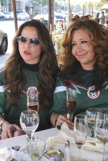 Se encontraba acompañada de la reportera de El Gordo y La Flaca, Jessica...