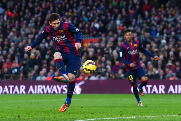El argentino anotó su gol 26 para ponerse a dos goles de Ronaldo en la l...