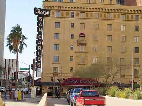 El Hotel San Carlos, en Phoenix, está embrujado, según rel...