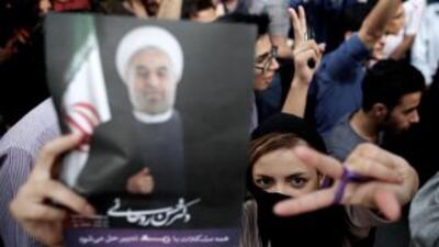 El reformista moderado Hasan Rohani se ha convertido en el séptimo presi...