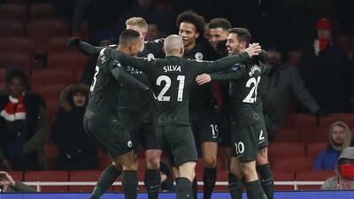 El City le repite la dosis al Arsenal, pero esta vez en la Premier League