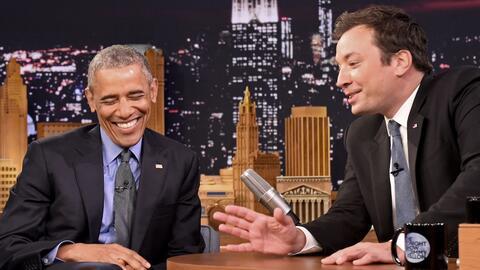 Barack Obama en el show de Jimmy Fallon