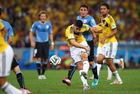 Durante la Copa Mundial  de Brasil 2014, James Rodríguez recibió la Bota...