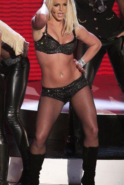 En su regreso a los escenarios en 2007 la cantante dio mucho de qué habl...