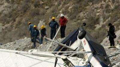 Una avioneta ultra ligera se desplomó el sábado en Nuevo León, misma ent...