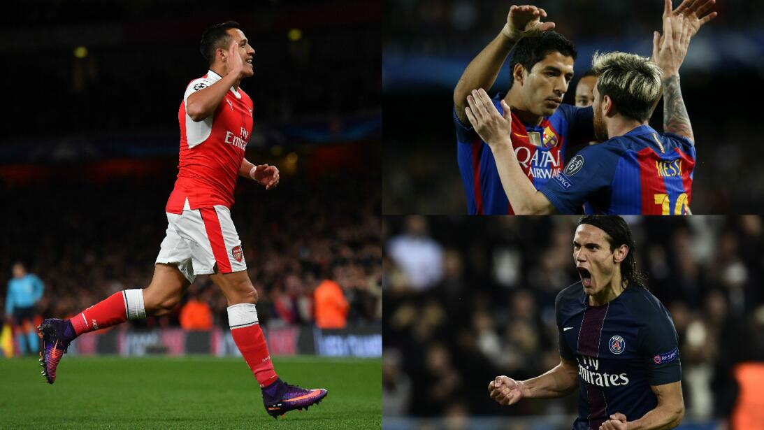 Toque latino en las victorias y derrotas de la Champions League Getty-pr...