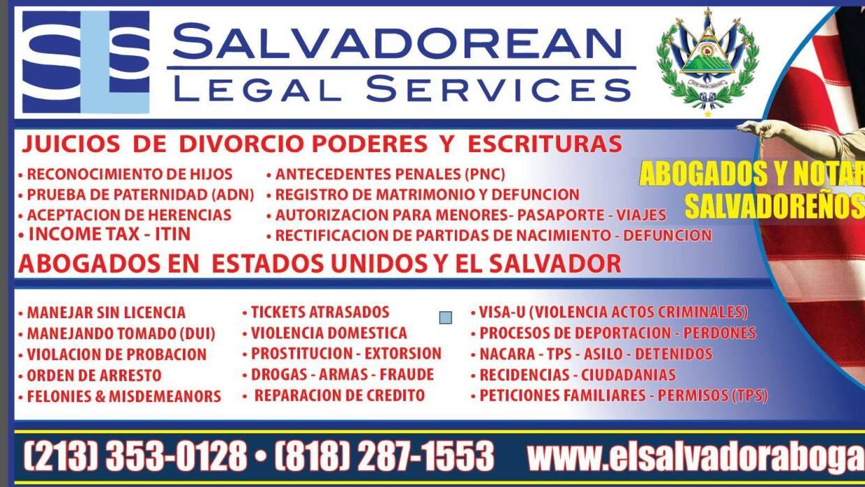 acusan de publicidad enga osa a salvadorean legal services On publicidad para abogados