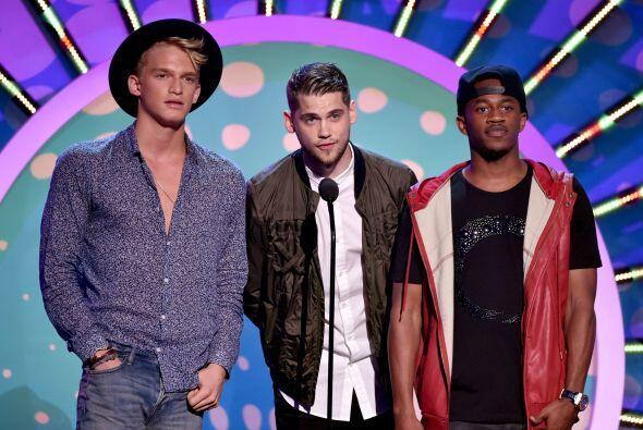 """Cody Simpson, Tony Oller y Malcolm David Kelley (¡el niño de """"Lost!)"""