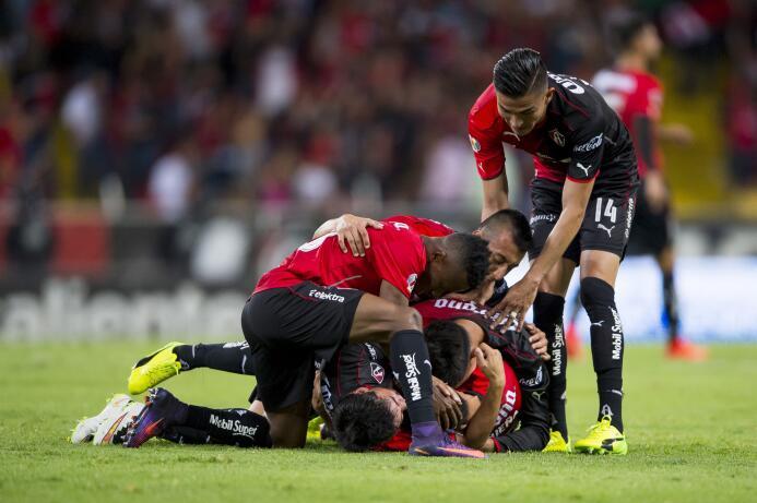 Atlas y Xolos empatan a tres en el partidazo de la jornada Gol Jose Madu...