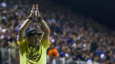 ¡Rechazó dos ofertas de la Liga MX! Las razones de Maradona para quedarse en Dorados
