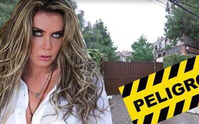 Sabine Moussier podría perder su casa, otra vez, por culpa de su ex