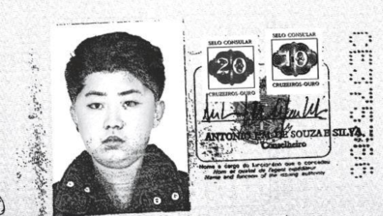Kim Jong Un era niño cuando al parecer usó el pasaporte brasileño para v...