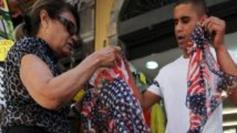 La euforia por la Obamanía ha llegado a Brasil.