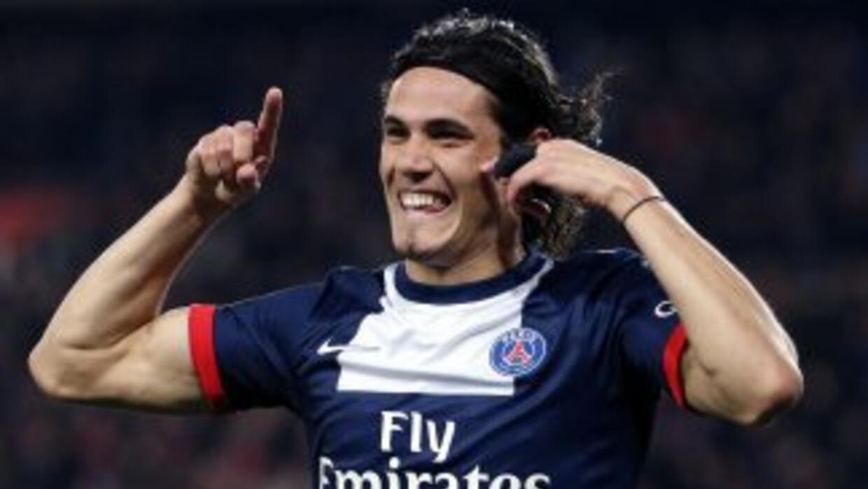 Cavani firmó la segunda diana de los parisinos.