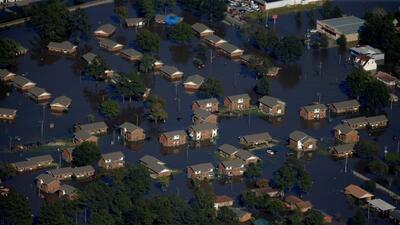Lumberton: la ciudad que el huracán Matthew dejó bajo el agua en Carolina del Norte