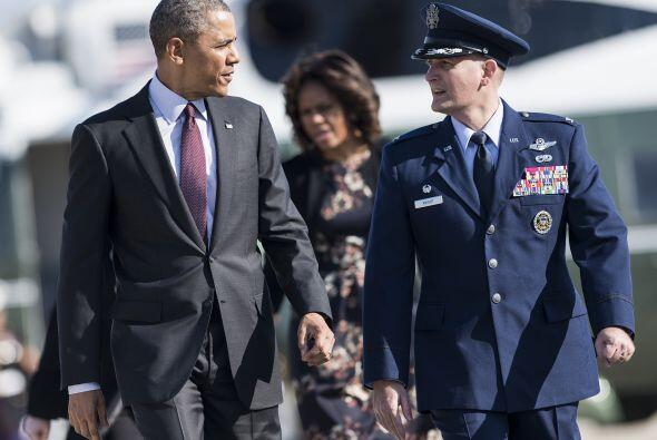 El presidente y la primera dama están en Texas este miércoles para una c...