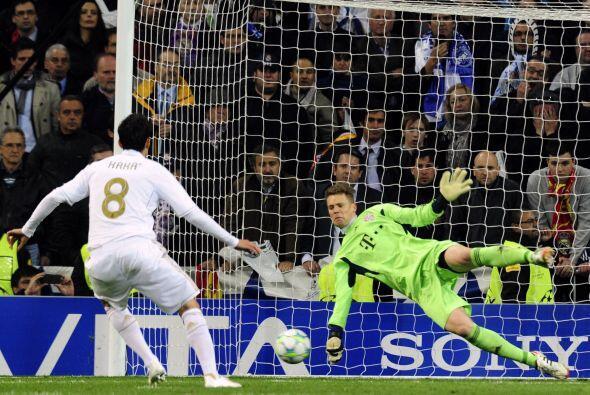 Luego Kaká y Sergio Ramos no convirtieron y el Madrid perdi&oacut...