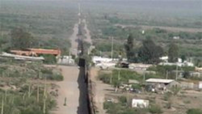 Frontera México-Estados Unidos.