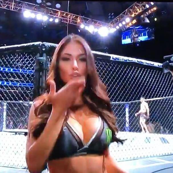 Arianny Celeste y Brittney Palmer deslumbran en cada evento de la UFC