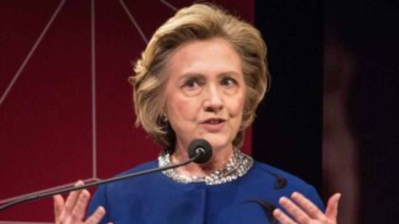 La exsecretaria de EstadoHillary Clinton.