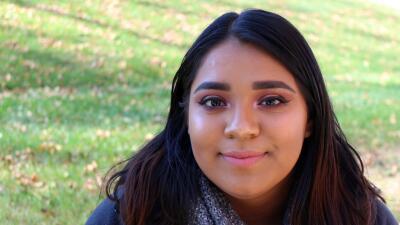 Una consejera le dijo a Brenda Gomez que tenía potencial y que podía lle...