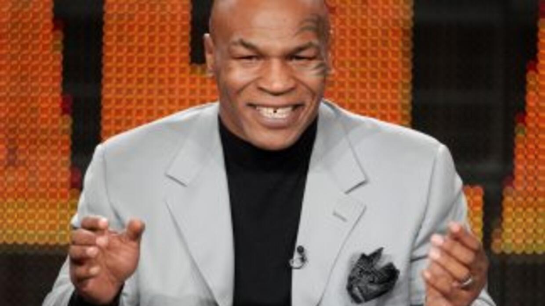 Mike Tyson fue papá