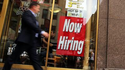 Baja la tasa de desempleo en Estados Unidos