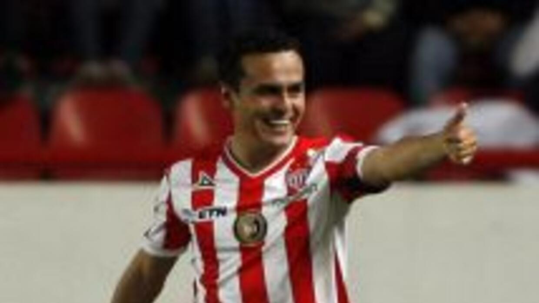 Necaxa goleó a Delfines en la ida de semifinales.
