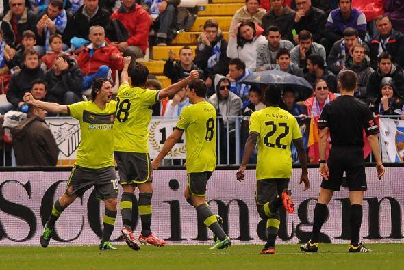 El albiceleste cortó el listón con el primer gol para que los 'Periquito...