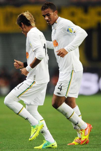 El Santos de Brasil festejó en Japón ante Kashiwa, con un 3 a 1 merecido.
