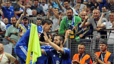 Bosnia-Herzegovina 3-1 Israel: Bosnia golea y conserva posibilidades de avanzar a la Euro