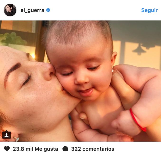 El actor Alberto Guerra escribió en su Instagram una emotiva carta de am...