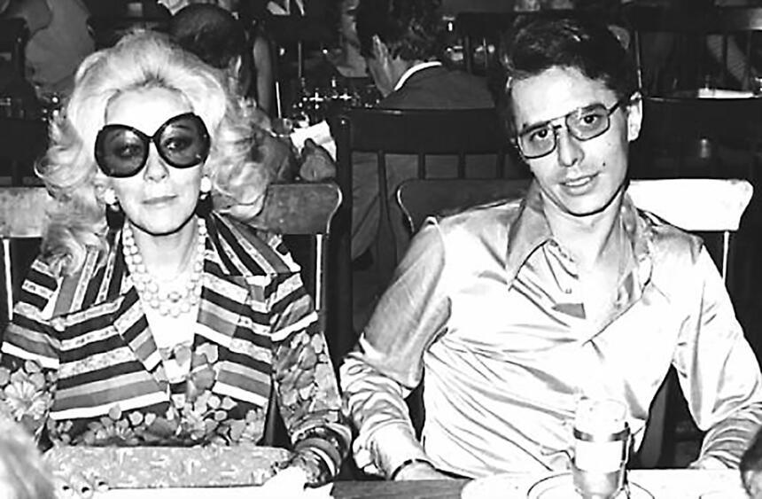 Silvia Pinal y Enrique Guzmán durante el tiempo que fueron una de las pa...