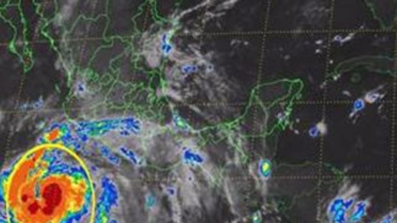 La tormenta tropical Marie se transformó en huracán en el este del Pacíf...