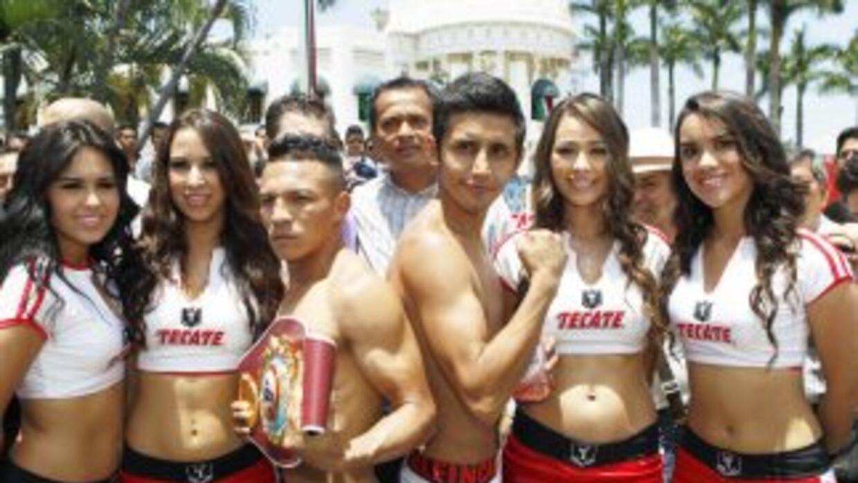 De la Rosa y Fuentes listos para 'Solo Boxeo'.