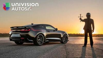 Hennessey Camaro ZL1 'El Exorcista', el 'muscle car' más rápido del mundo
