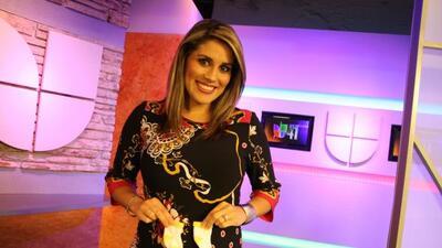 Brenda Jiménez, conductora de Noticias 41 en San Antonio, Texas.
