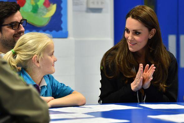 """Cuando la duquesa entró uno de los niños gritó emocionado: """"Oh my God, i..."""