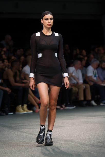Pero no fue la única musa de la marca, la rusa Irina Shayk, también hizo...