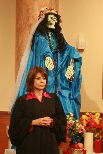 La jueza Cristina Pereyra tuvo a como invitada especial en la corte, La...