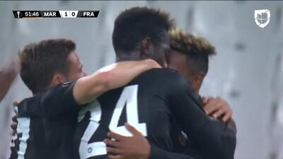 ¡GOOOL! Lucas Torró anota para Eintracht Frankfurt