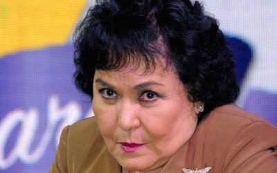 Carmen Salinas molesta