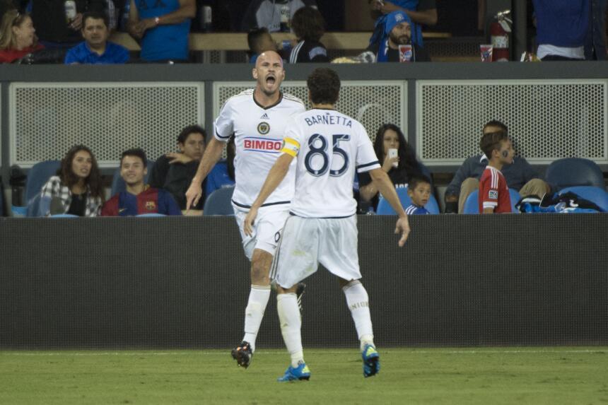 Equipo de la Jornada 27 de la MLS