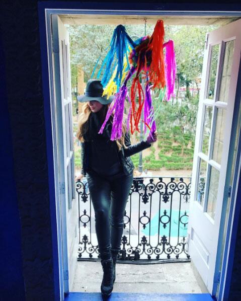 La actriz confesó que físicamente y emocionalmente ha sido un cambio muy...