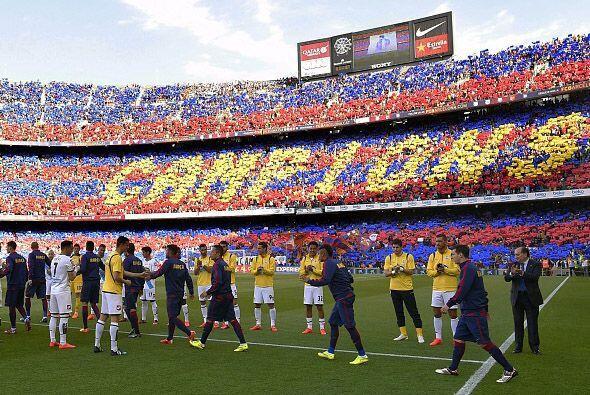 Para el Deportivo no era un partido fácil, en ese marco sobrecojedor se...