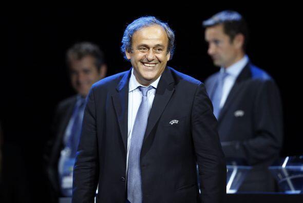 Michel Platini, presidente de la UEFA, aclaró antes de la gala que no op...