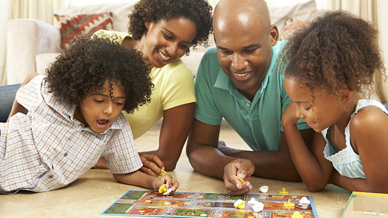 Family game night encourages teamwork and personal connections