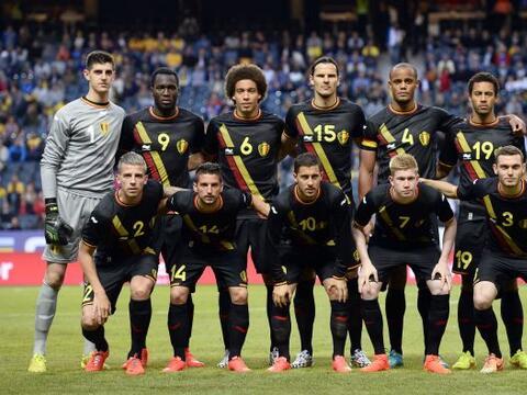 Bélgica quiere dar la sorpresa en la competencia y se ubica en el...